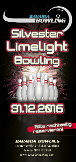 Silvester Party München Bowling 2015